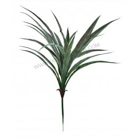 Ramo de hojas de orquídea