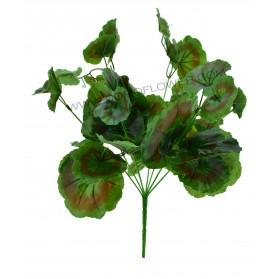 Ramo de hojas de geranio