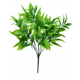 Ramo de hojas de bambú