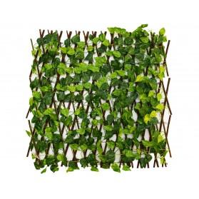 Valla pequeña de hojas