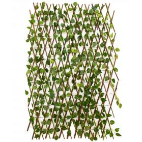 Valla de hojas