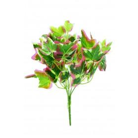 Ramo de hojas de hiedra bicolor