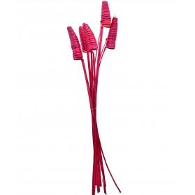 Pack varas decorativas ondulado