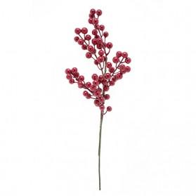 Vara de acebo con varias ramas (Se venden en paquete de 12 varas)