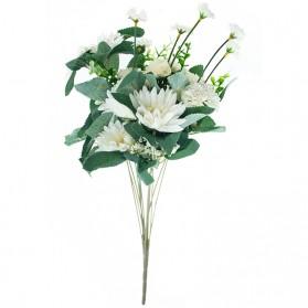 Ramo de crisantemo con girasoles