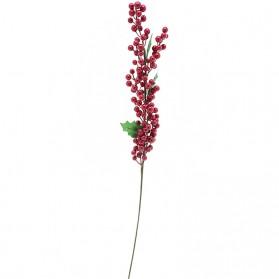 Vara de acebo con hojas (Se venden en paquete de 12 varas)